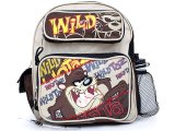 "Looney Tunes Taz  School Backpack 12"" Small Medium Bag"