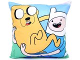 Adventure Time Jake and Finn  Cushion Pillow - Silk Printing 15in
