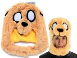 Adventure Time Jake Mascot Plush Hat , Beanie
