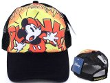 Disney Mickey Mouse Vintage Baseball Cap Mesh Back Hat