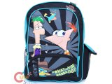 Phineas and Ferb School Backpack -16in Large Bag