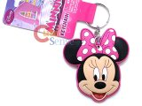 Disney Minnie Mouse Big Face PVC Key Chian