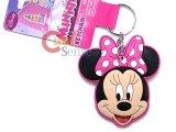 Disney Minnie Mouse Big Face PVC Key Chian
