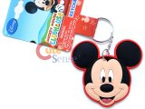 Disney Mickey Mouse Big Face PVC Key Chian
