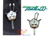 Gundam 00 Exia Face Rubber Key Cap , Key Holder