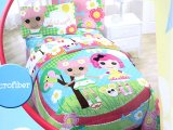 Lalaloopsy 4pc Twin Bedding Comforter with Sheet Set