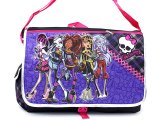 Monster High School  Messenger Bag  Puprle Checkered Sholder Bag