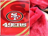 NFL San Francisco 49ers Mink Plush Blanket - Queen Bed