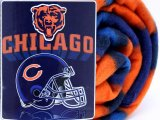 NFL Chicago Bears  Fleece Throw Blanket  50x60 - Helmet Logo