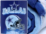 NFL Dallas Cowboys  Fleece Throw Blanket  50x60 -Helmet Logo