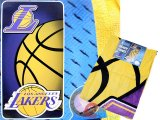 NBA  Los Angeles Lakers Beach, Bath Towel - Yellow