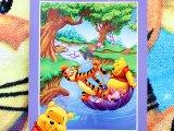 Winnie the Pooh with Friends Beach Blanket  Bath Towel : 55x70 Full