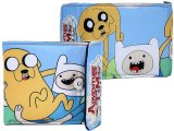 Adventure Time Finn and Jake Silky Leather  Bi-Fold Wallet