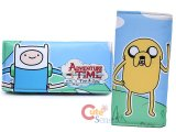 Adventure Time Finn and Jake Silky Long Wallet