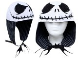 Nightmare Before Christmas Jack Face Aviator Hat Lapland Hat / Cap