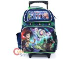 Disney Toy Story 16in Large Roller Backpack School Rolling Bag-Action