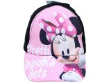 Disney Minnie Mouse Baseball Cap Kids Adjustable Hat :Pink Pretty in Polka Dots