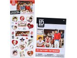 One Direction Sticker and Tattoos 50pc Set
