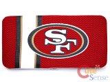 NFL  San Francisco 49ers Jersey Hinge Wallet / Flat Wallet