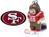 NFL San Francisco 49ers Player Figure Key Chain