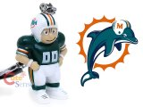 NFL Miami Dolphins Player Figure Key Chain