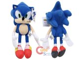 Sega Sonic The Hedgehog X Blue Sonic Plush Doll 16in X-Large