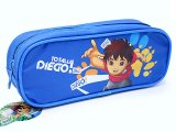 Go Diego Go Zippered  Pencil Case Pouch Bag