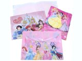 Disney Princess 4PC  File Jacket Clear Folder Set