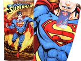Super Man Cotton Beach, Bath Towel - Firely Planet