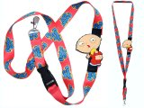 Family Guy Stewie Lanyard with Molded Stewie Butt