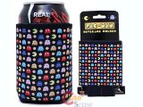 Pac Man Neoprene Can Bottle Cooler / Koozie