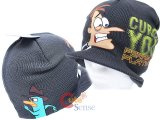 Phineas and Ferb Knitted Beanie with Cap -Curse You