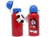 Disney Mickey Mouse Aluminum Sports Water Bottle / Container :13oz