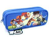 Ben 10 Alien Force  Zippered  Pencil Case Pouch Bag : Blue