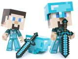 Minecraft Steve Diamond Edition Vinyl Action Figure