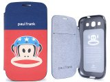 Paul Frank Samsung Galaxy S3 Flip Cover Phone Case -US Helmet