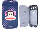 Paul Frank Samsung Galaxy S3 Flip Cover Phone Case - Head Phone