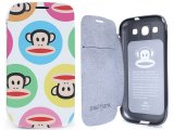 Paul Frank Samsung Galaxy S3 Flip Cover Phone Case - Color Bubble