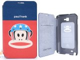 Paul Frank Samsung Galaxy Note Flip Cover Phone Case -US Helmet