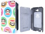 Paul Frank Samsung Galaxy Note Flip Cover Phone Case -Color Bubble