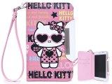 Sanrio Hello Kitty Samsung Galaxy Note Diary Flip Cover Hard Case w/Stand