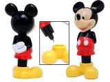 Disney Mickey Mouse 3D Figure Ball Point Pen with Stand