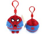 Marvel Spiderman Beanie Ballz Clip On Plush Doll Key Chain