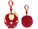 Iron Man Beanie Ballz Clip On Plush Doll Key Chain