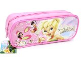 Disney Tinkerbell  Pencil Case Zippered Bag - Pink