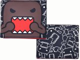 Domo Kun Rubber Bi Fold Wallet