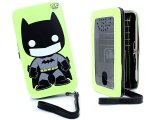 POP Heroes Funko Batman Neon Hinge Wallet Universal Phone Case