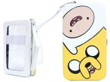Adventure Time Finn and Jake Hinge Wallet Universal Phone Case