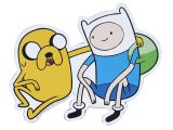 Adventure Time Finn and Jake Decal Magnet