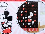 Disney Mickey Mouse Fabric Shower Curtain 72inx72in
